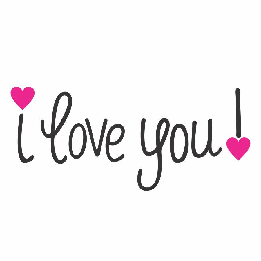 عکس پروفایل I Love You ای لاو یو و عکس نوشته های من دوستت دارم انگلیسی