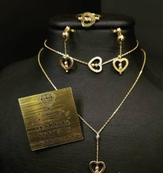 مدل سرویس طلا | شیک ترین مدل های سرویس طلای ظریف و شیک بانوان