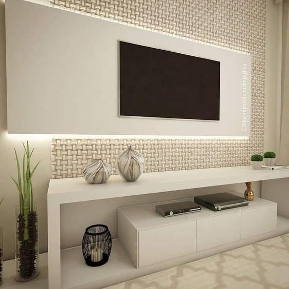 انواع مدل میز تلویزیون و دکوراسیون پشت تلویزیون و نکاتی برای انتخاب