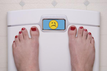 افزایش وزن در زمان قاعدگی