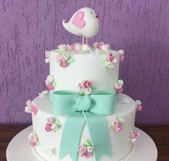 کیک تولد زنانه, مدل کیک تولد دخترانه, تزیین کیک تولد