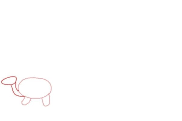 نقاشی کودکانه حیوانات