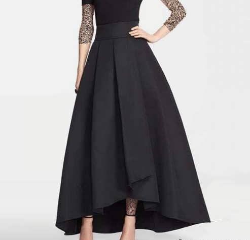 مدل دامن دخترانه بلند