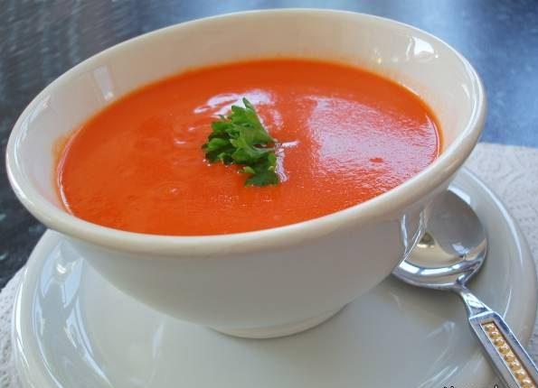 سوپ سه گوجه