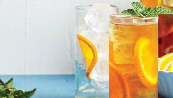 چای سرد با پرتقال