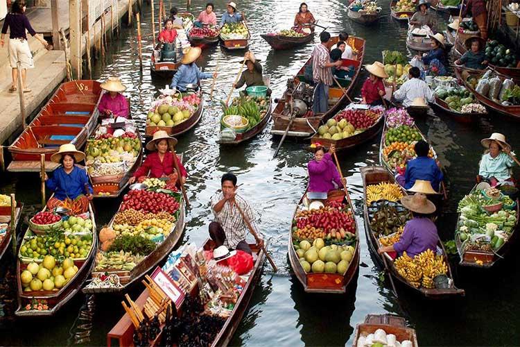 شهرهای تایلند