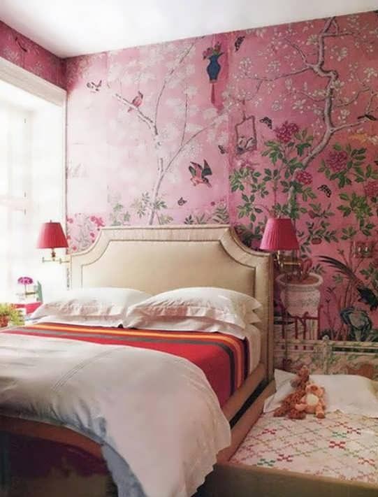 Photo of 30 طرح کاغذ دیواری شیک و زیبای اتاق خواب؛ مدل های کاغذ دیواری با طرح های مختلف