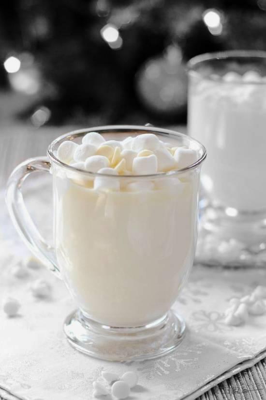 شکلات داغ سفید