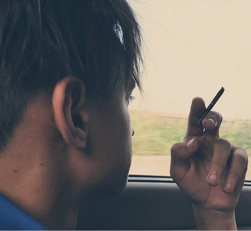 عکس پروفایل سیگار