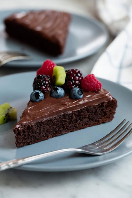 کیک شکلاتی بدون آرد