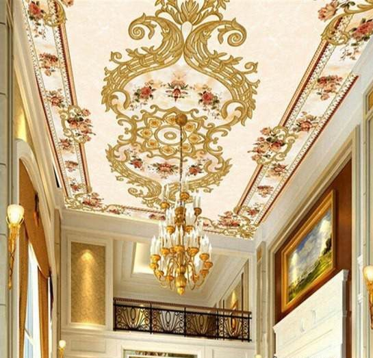 Photo of مدل کاغذ دیواری سقف | مدل های شیک کاغذ دیواری سقف در انواع طرح