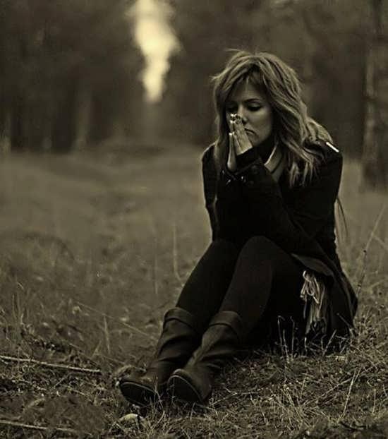 عکس پروفایل دخترونه غمگین