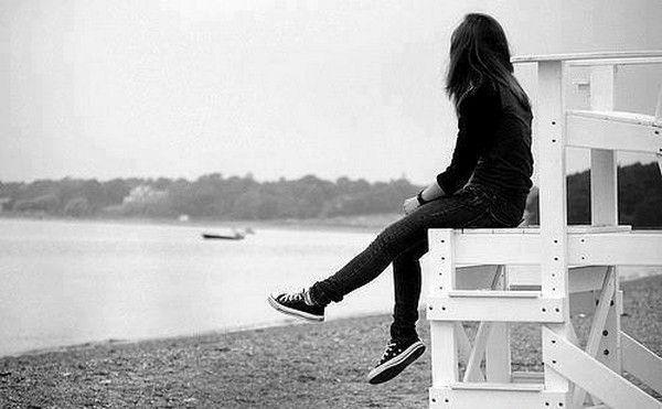عکس پروفایل دختر تنها