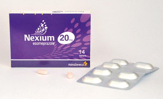 قرص نکسیوم | اطلاعات دارویی قرص نکسیوم (اسموپرازول) برای درمان رفلاکس معده