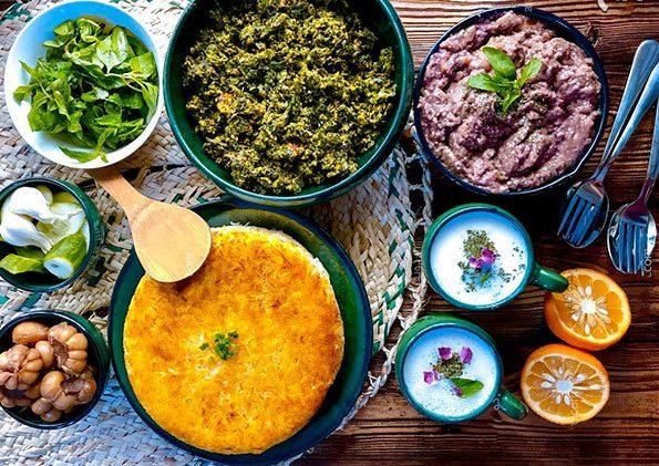 سیرابیج خورش گیلانی | آموزش طرز تهیه خورش شمالی و گیلانی سیرابیچ