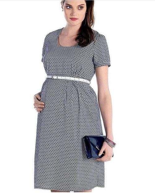 مدل لباس بارداری نخی