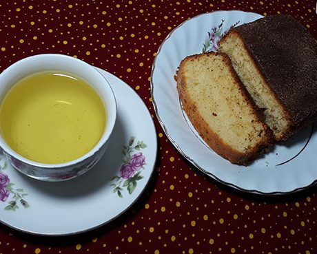 کیک چای و دارچین