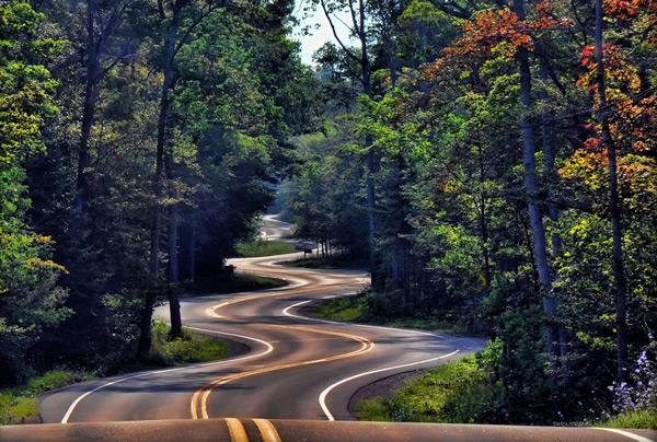 متن زیبا در مورد جاده