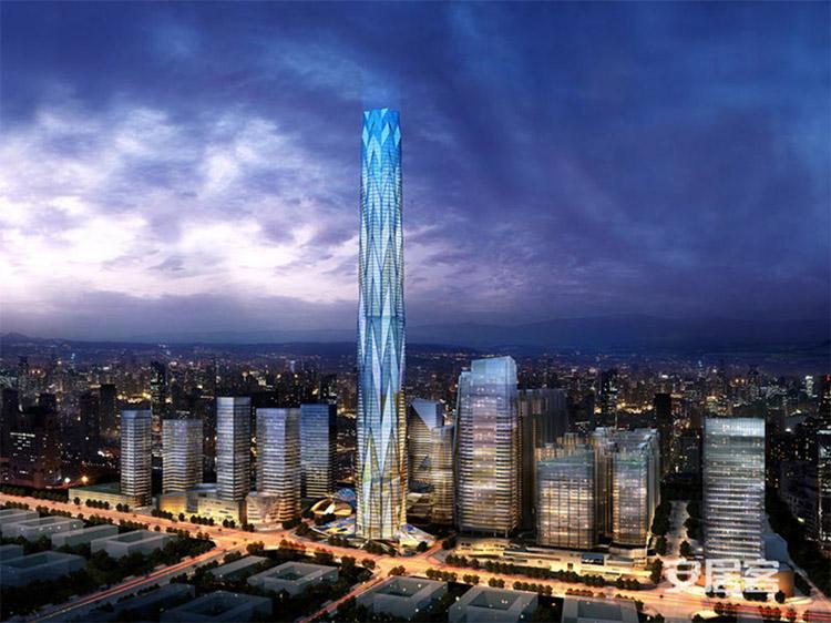بلندترین برج و ساختمان های جهان