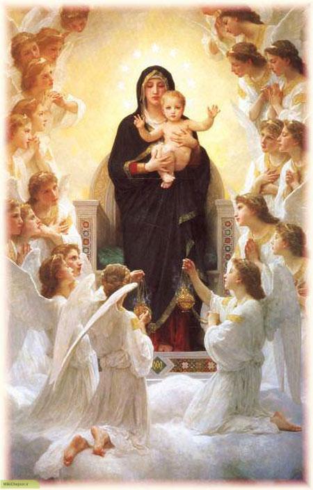 داستان کوتاه حضرت مریم و حضرت عیسی برای کودکان