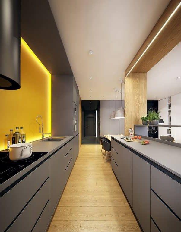 Photo of نورپردازِی آشپزخانه + اصول نورپردازی آشپزخانه که باید بدانید