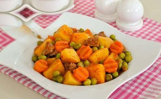 خوراک نخود فرنگی