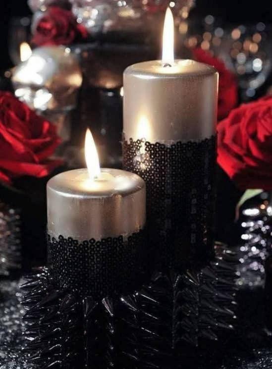 شمع آرایی مراسم ختم
