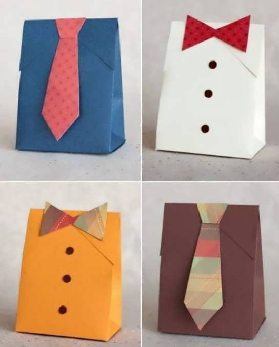 تزیین کادو مردانه + انواع مدل خلاقانه و جالب تزیین و دیزاین کادوی آقایان