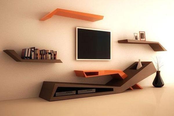 مدل میز تلویزیونی دیواری