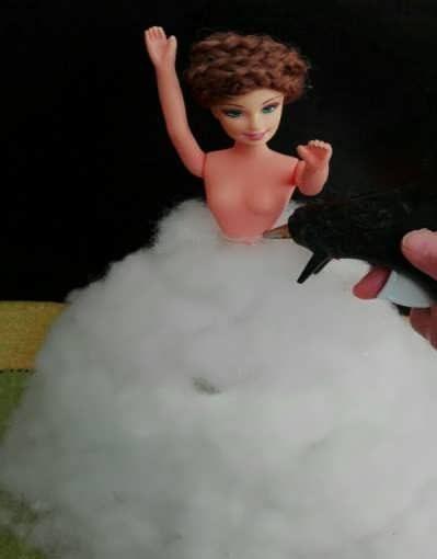 آموزش روش ساخت عروسک باربی
