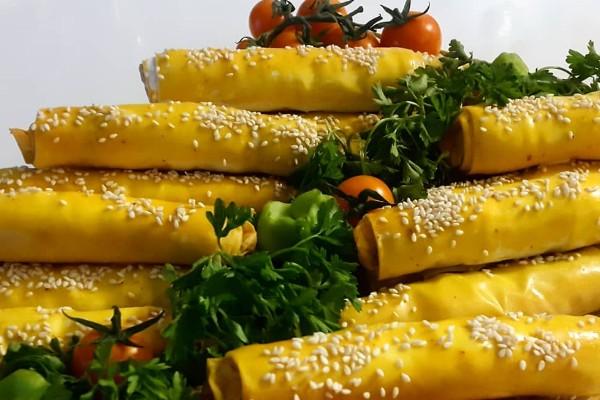 طرز تهیه بورک سبزیجات