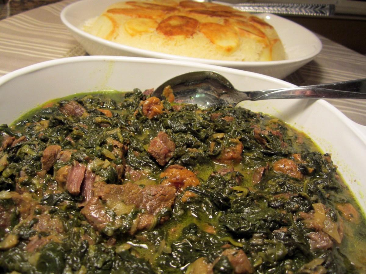 Photo of طرز تهیه خورش آلو اسفناج خورش خوشمزه و سنتی ایرانی