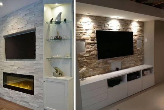 مدل تزیین منزل با سنگ آنتیک