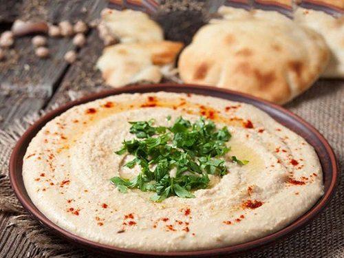 طرز تهیه حمص لبنانی