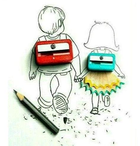 عکس نوشته مدرسه