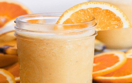 آموزش طرز تهیه اسموتی پرتقال