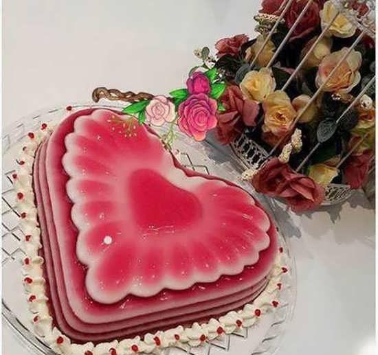 تزیین ژله برای سالگرد ازدواج