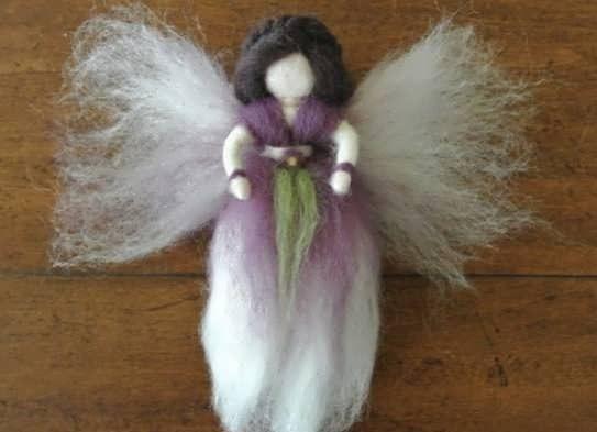 آموزش ساخت عروسک فرشته