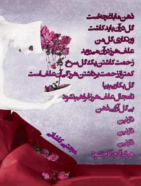 شعر درباره گل