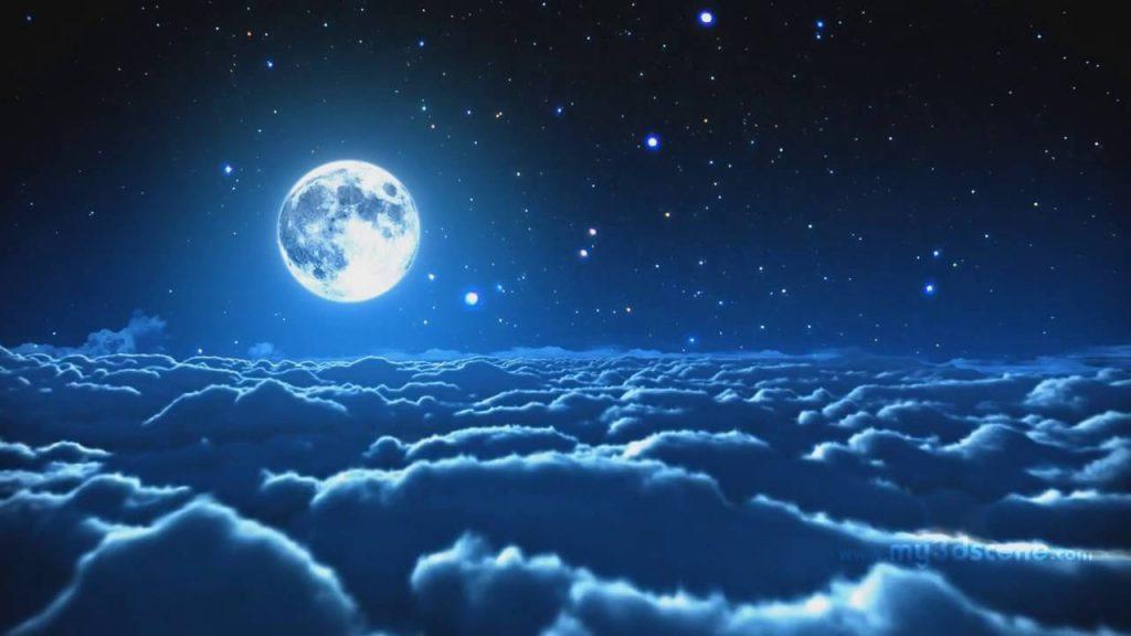عکس ماه و منظره شب + تصاویر با کیفیت از قرص ماه و شعر با مضمون ماه