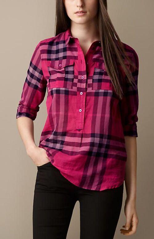 pirahan 4khaneh 4 مدل پیراهن چهارخانه زنانه و دخترانه + 25 مدل شیک و زیبا مدل لباس