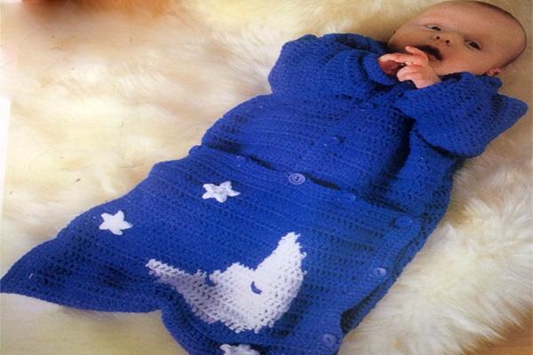 آموزش بافت کیسه خواب نوزاد