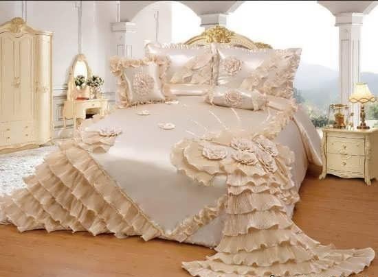 تزیین پتو عروس