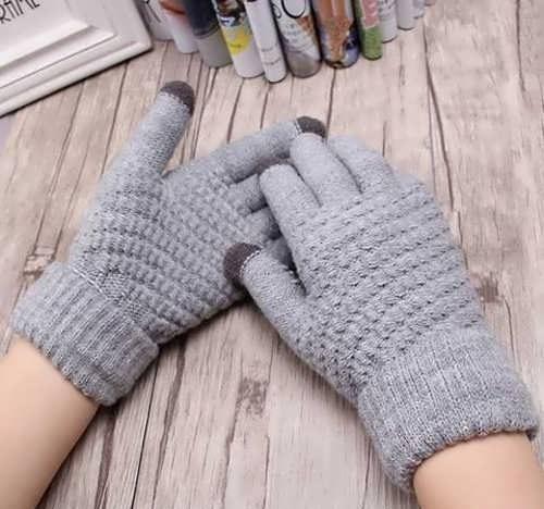 مدل دستکش بافتنی زنانه