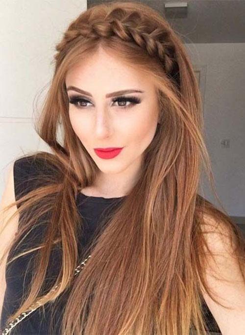 مدل موی باز صاف