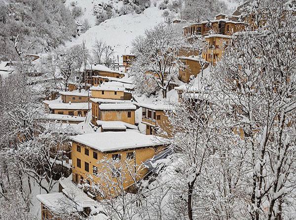 عکس طبیعت زمستانی