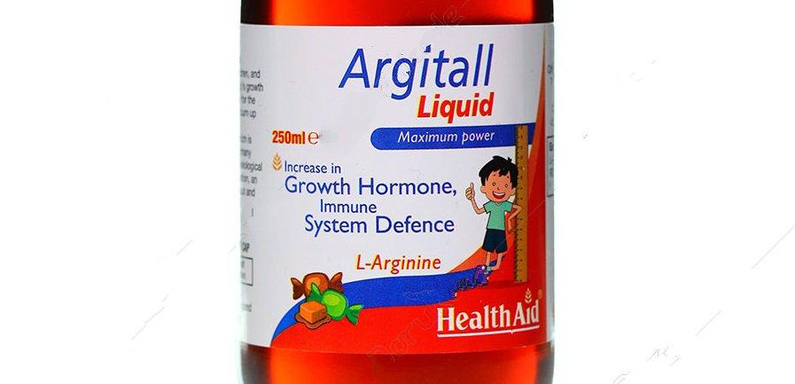 شربت آرژیتال برای رشد قد