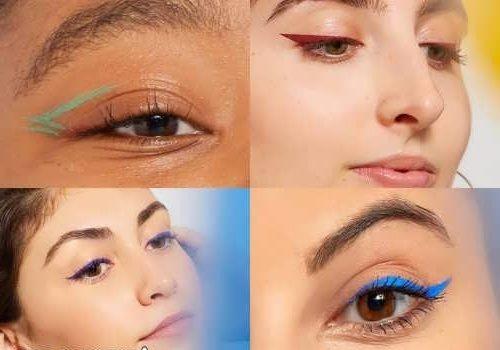 مدل های خط چشم رنگی + آموش خط چشم رنگی و تصاویر این مدل زیبا