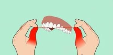 روش درست نخ دندان کشیدن