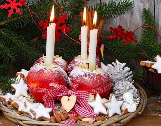 تزیین شمع شب یلدا